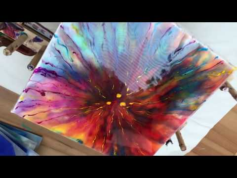 35 - Epoxy Resin Art - Testing Color Chameleon powder with Resin - Not a happy ending