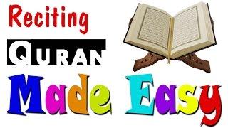 Reading Quran in Arabic Made Easy تيسير قراءة القرآن الكريم لغير العرب