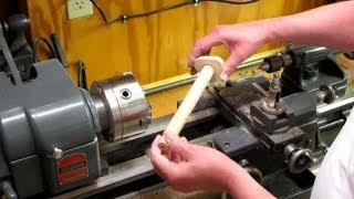 Wood Pipe On Metal Lathe