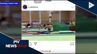 NEWS BREAK: Pagkapanalo ni Carlos Yulo sa World Artistic Gymnastics Championships, pinuri ng PSC