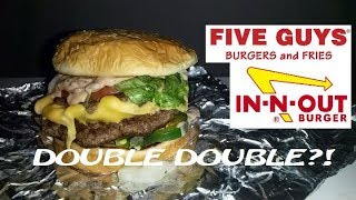 Five Guys Burger Hack: In-N-Out Animal Style Double Double (SECRET MENU)