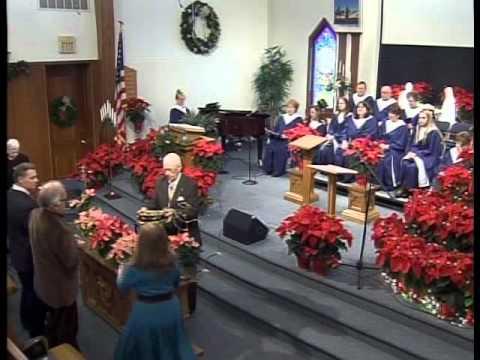 Laurel Springs Baptist Church, Christmas Cantata, 12/20/2015