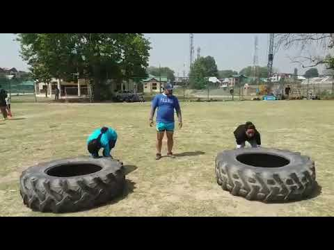 J&K Rugby Core Training J&K State Sports Council