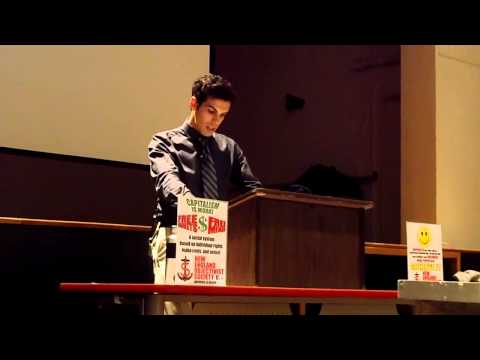"""Opening speech for """"Global Capitalism: the cure for world oppression and poverty"""""""
