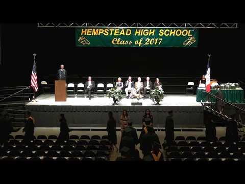 Hempstead High School 2017 Commencement