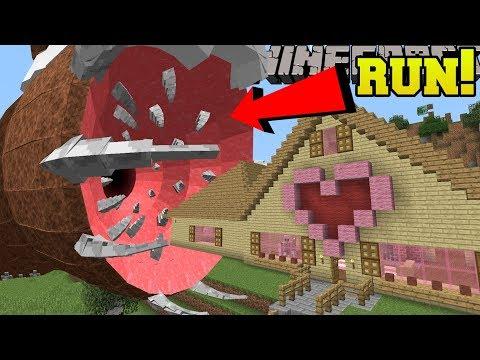 Minecraft: THE UNKILLABLE BOSS!!! (IT ATE JEN'S HOUSE!) - Mod Showcase
