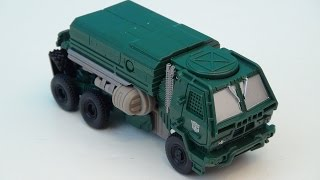 TRANSFORMERS 4 HOUND 1-STEP CHANGER AGE OF EXTINCTION VIDEO TOY REVIEW