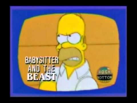Homer Simpson Rock Bottom