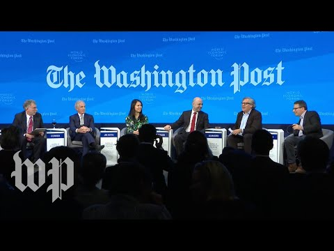 Watch: Full Davos panel on Trump's 'America First' foreign p