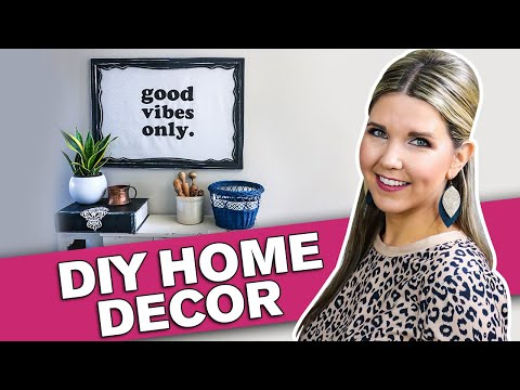 Trash to Treasure ⚫ Home Decor on a budget ⚫ Thrift Store Flip