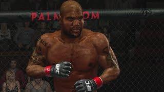 UFC 2009 Undisputed Gameplay: Rampage Jackson vs Anderson Silva
