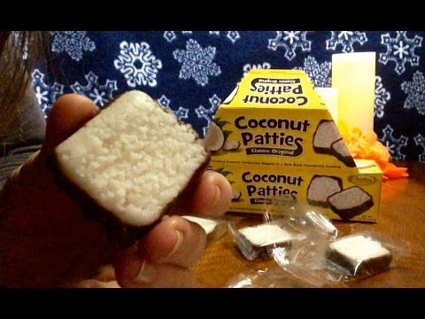 Classic Original Coconut Patties Review, Info & Rambling ASMR, Soft Spoken, Nice Sounds