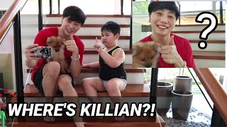 EPIC DISAPPEARING PHOTO PRANK ON KILLIAN!