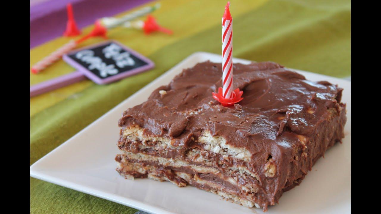 Tarta de galletas natillas y chocolate tarta de la for La cocina dela abuela paca