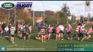 Olney RFC crowned U12 LRPRC champions at the Gardens