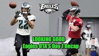 Eagles Lose Two Linebackers... Move Is COMING! Eagles OTA's...Dak Prescott Is Ricky Vaughn!!!