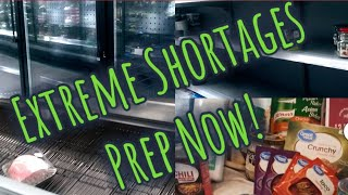 Extreme food shortages Prepper Pantry haul/Inflation on the rise/ No Toilet paper/Walmart