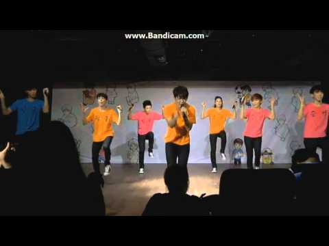 130817 LIKE SEVENTEEN- Happiness (Suju) dance [HD]