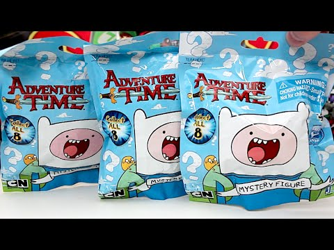 Opening 3 Adventure Time Blind Bags!!