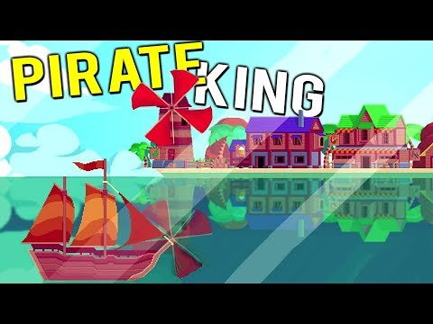 RULING THE SEAS AS THE PIRATE KING! BUILDING A PIRATE FORTRESS! - Don't Sink Preview Gameplay