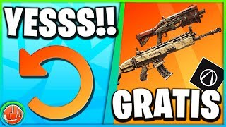 I'm going to play Fortnite again!! * FREE * Items UNLOCKEN!!