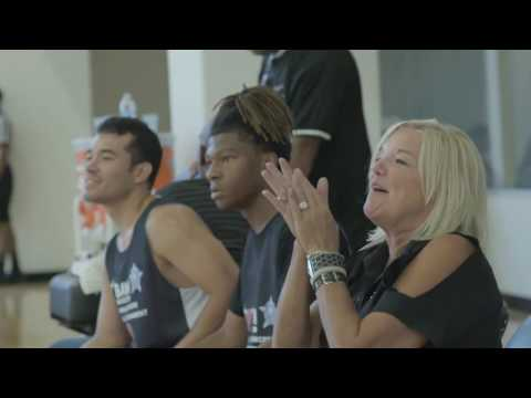 Bulls, Chicago Police Department, and Youth Guidance Basketball Tournament