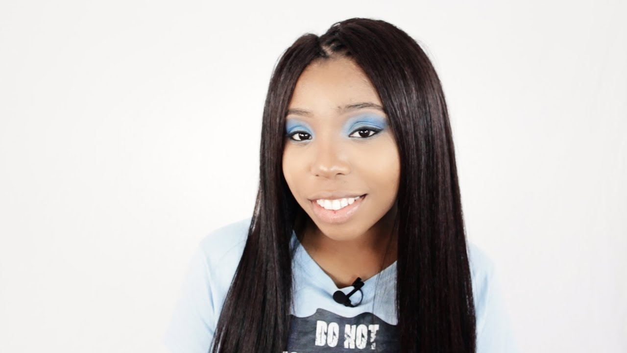 Cornrow Tree Braids Finished Hairstyle Tutorial Part 5