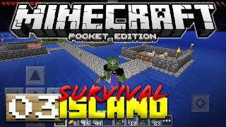 FARMING TIME! - MCPE SURVIVAL ISLAND #3 - Minecraft PE (Pocket Edition)
