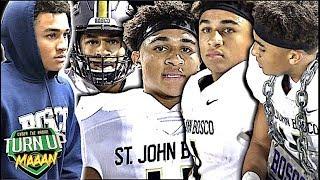 🔥🔥 Trent McDuffie '19 | St. John Bosco vs San Clemente | Game Spotlight