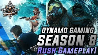 PUBG MOBILE LIVE SEASON 8   ROYAL PASS LEVEL 100   NEW UPDATE WITH DYNAMO GAMING