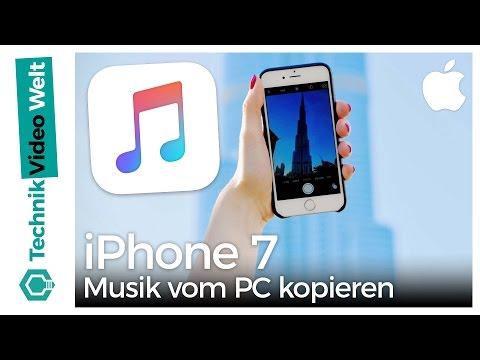 iPhone 7 Musik vom PC kopieren