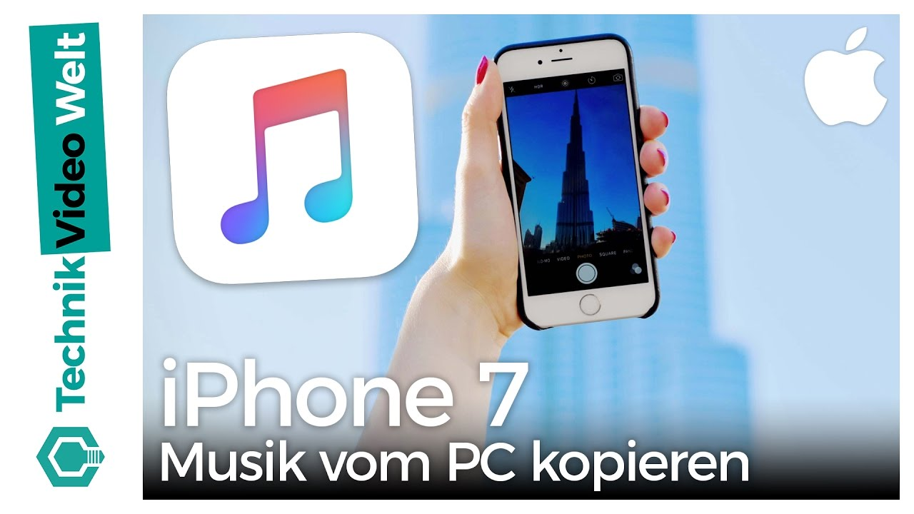 iphone 7 musik vom pc kopieren youtube. Black Bedroom Furniture Sets. Home Design Ideas