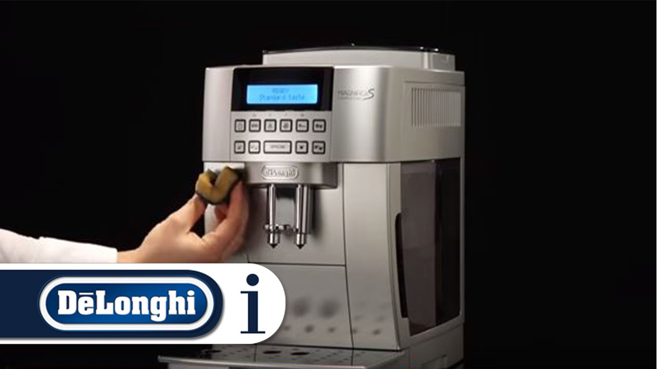 How to Switch On Your De'Longhi Magnifica S ECAM 22.360.S Coffee .
