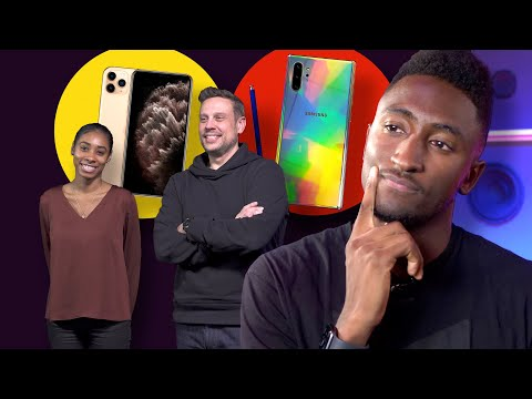 IPhone Or Android, With MKBHD