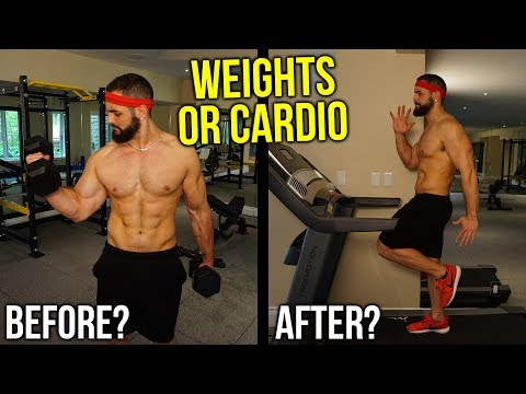 Cardio Before or After Weight Training to Burn Fat Fast (Same Day? Which First?)