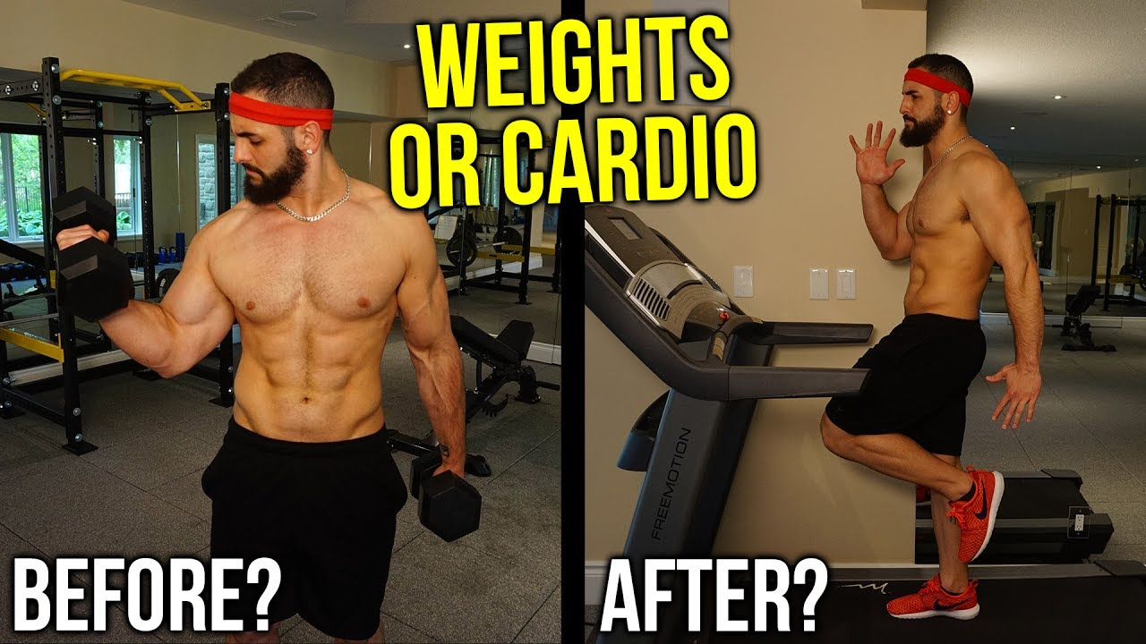 Should you weight lift before or after cardio