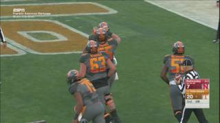 Tennessee Football: Vols 38, Nebraska 24 (2016 Music City Bowl)