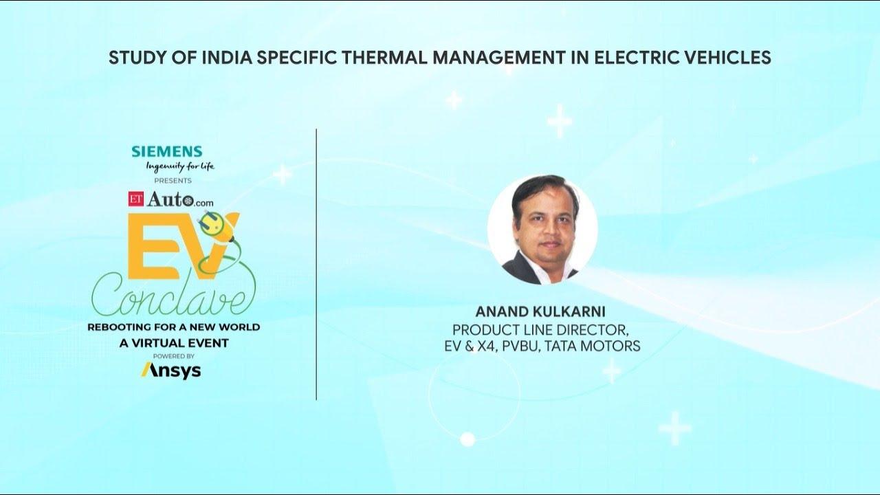 Mr. Anand Kulkarni at ET EV Conclave