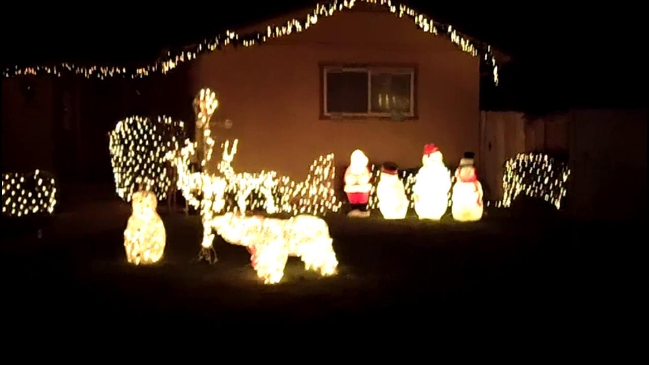christmas tree lane christmas lights modesto ceres california 2016 - Christmas Tree Lane Modesto Ca