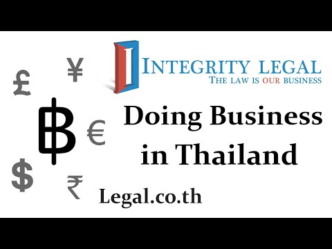 Thai Authorities Approve 100% Foreign Ownership of More Businesses