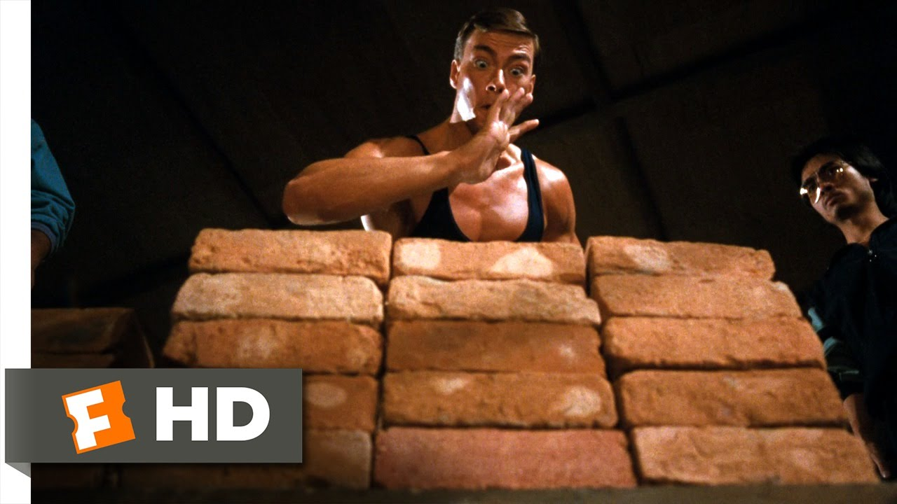 Bloodsport (1988) HD(5/9) Movie CLIP - Dim Mak (Death Touch) | Death-Point Striking