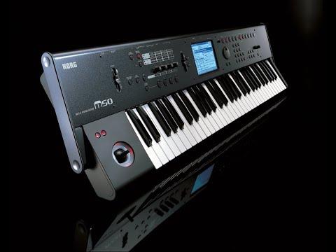 Korg M50 - Ultimate Ambient Machine? (No Talking)