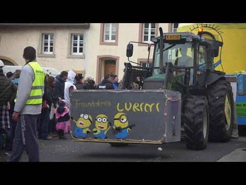 FASCHING  Karneval  (CARNIVAL) 2017-- Mettendorf, Germany (The Madri Gras of Germany)