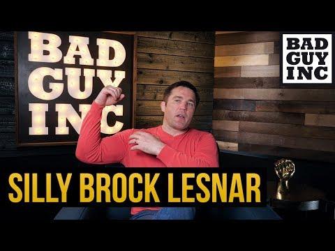 Silly Brock Lesnar...