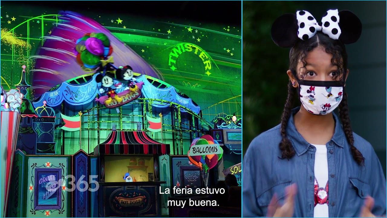 Mickey & Minnie's Runaway Railway con Kyliegh Curran y Preston Oliver   Disney 365   Disney Channel