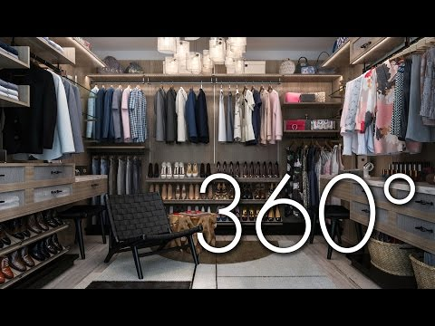 Finesse: A His And Hers Sanctuary 360° Vr Closet Tour