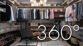 finesse a his and hers sanctuary 360 vr closet tour