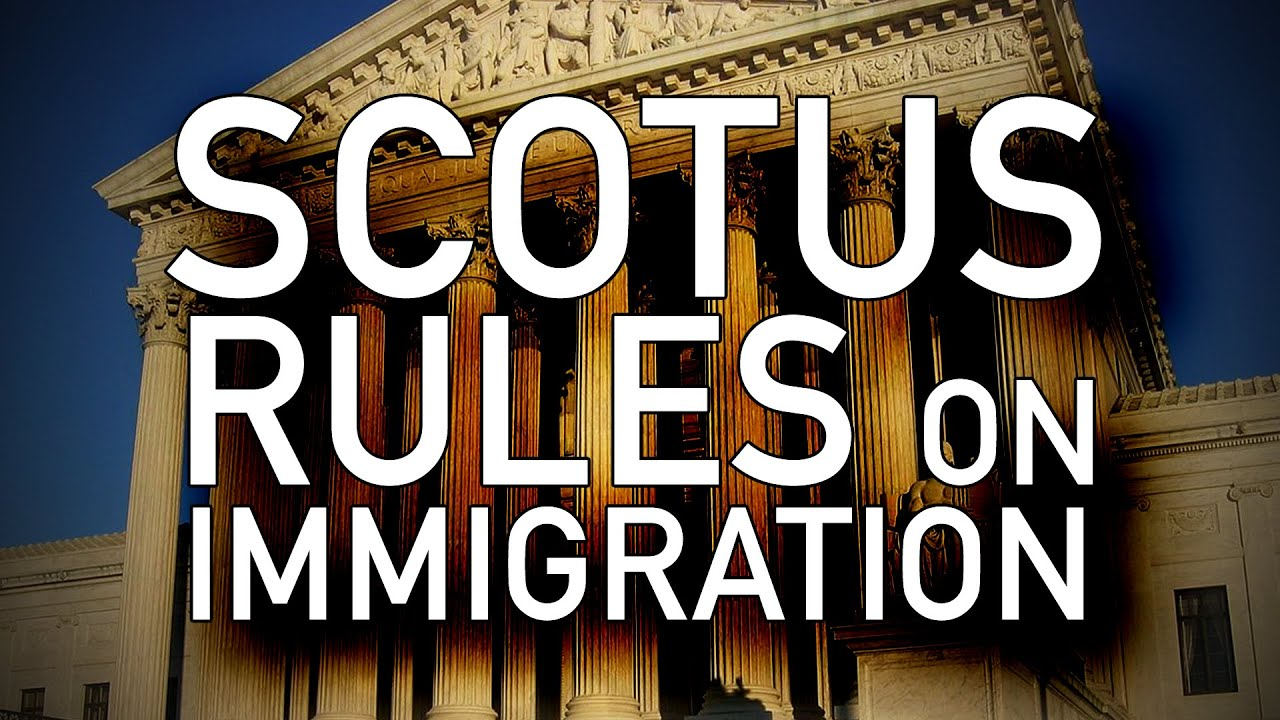 "SCOTUS Strikes Down Leftist Claims of Habeas Corpus for Illegal Aliens - Deemed ""Inappropriate"""