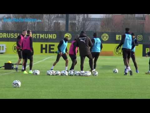 Sancho und Schmelzer zurück im BVB-Training