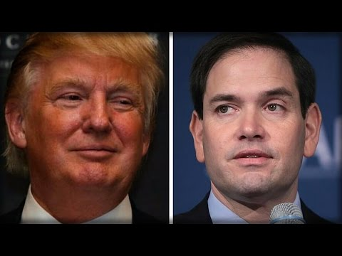 RUBIO MAKES STATEMENT ABOUT HIS ENDORSEMENT OF TRUMP